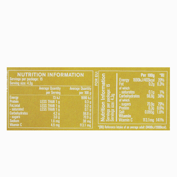 Bomboane Manuka MGO (400+) cu ghimbir si lamaie Manuka Health - 65 g