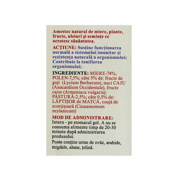 Borcanul copiilor veseli (imunostimulator) Prisaca Transilvania - 200 g