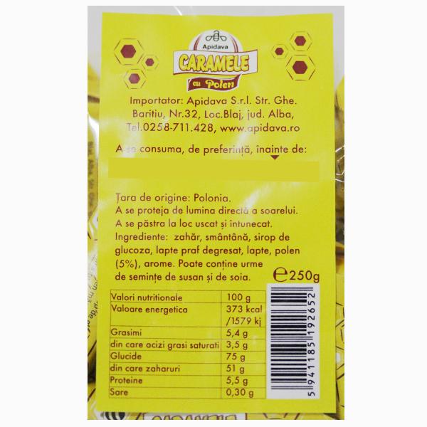 Caramele cu polen Apidava - 250 g