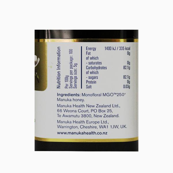 Miere Manuka MGO (250+) Manuka Health - 500 g
