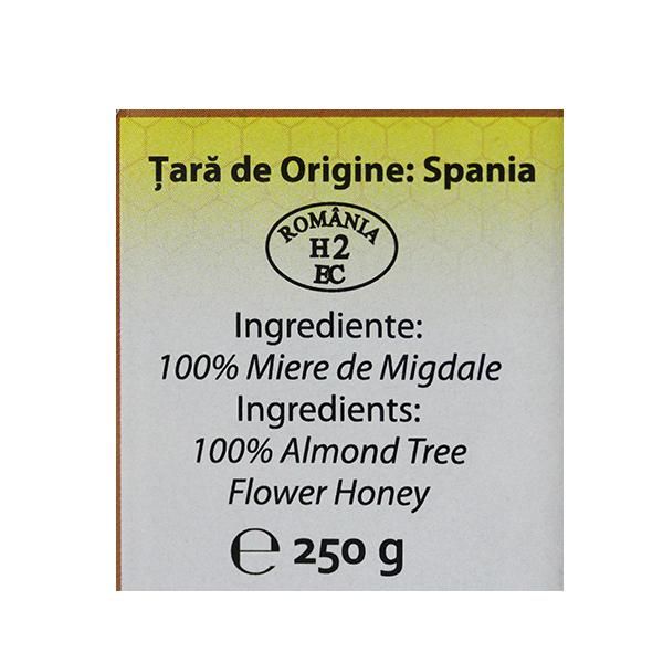 Miere de flori de migdale Apidava - 250 g
