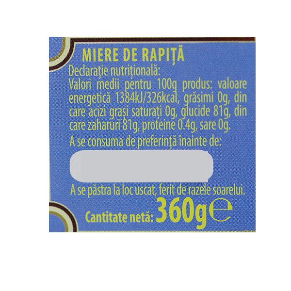 Miere de rapita Albina Carpatina - 360 g