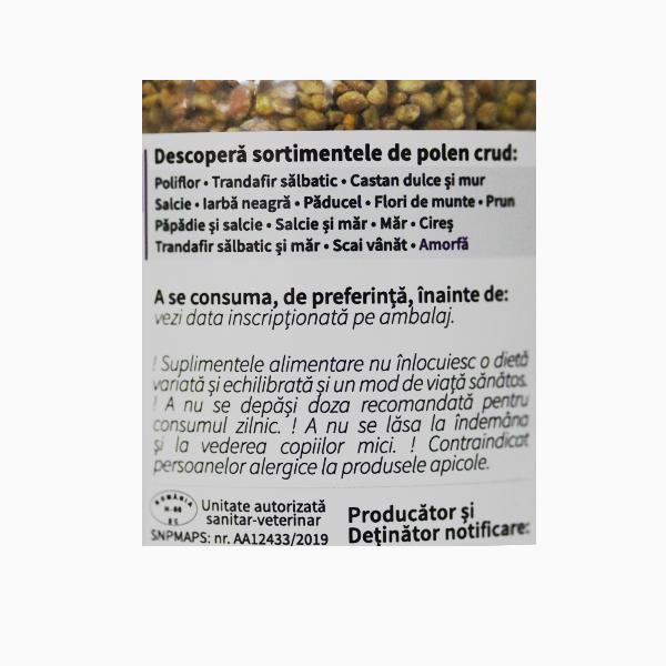 Polen crud amorfa Apiland - 230 g
