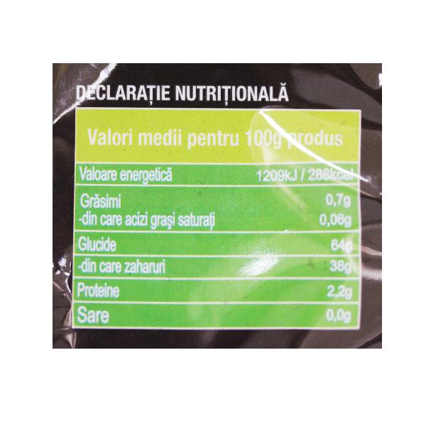 Prune deshidratate fara samburi (fara zahar) - 200 g