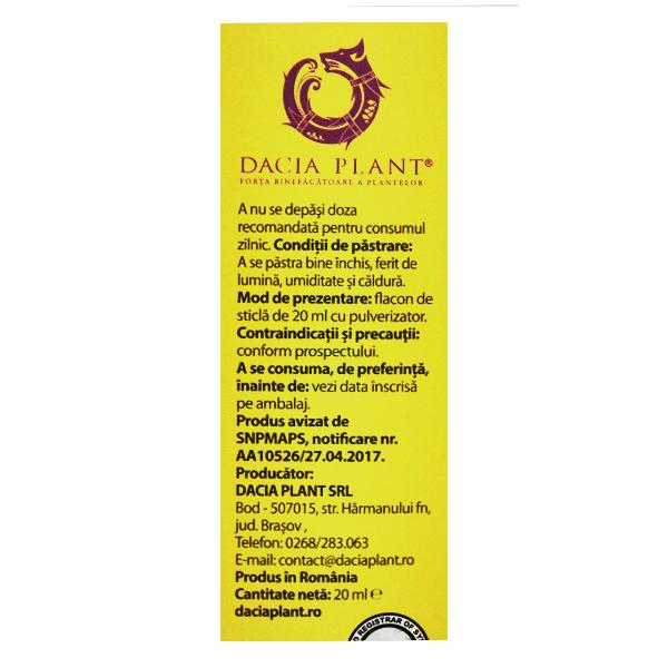 Pufy Puf Propolis si musetel - spray Ingerasul Dacia Plant - 20 ml