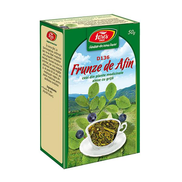 Ceai afin frunze (punga) Fares - 50 g