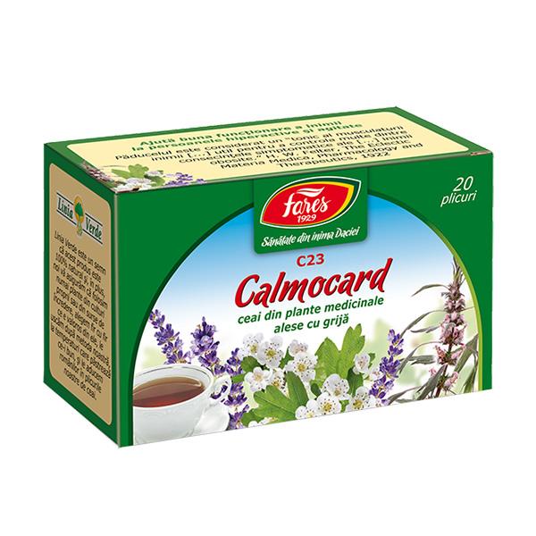 Ceai calmocard (20 pliculete) Fares - 30 g