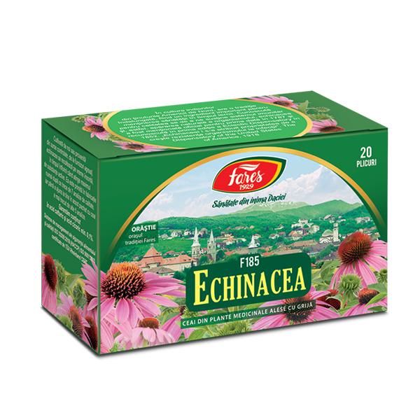 Ceai echinaceea (20 pliculete) Fares - 30 g