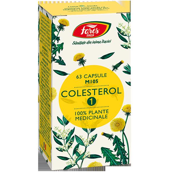 Colesterol 1 FARES - 63 capsule
