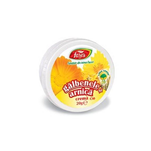 Crema galbenele si arnica FARES - 20 g