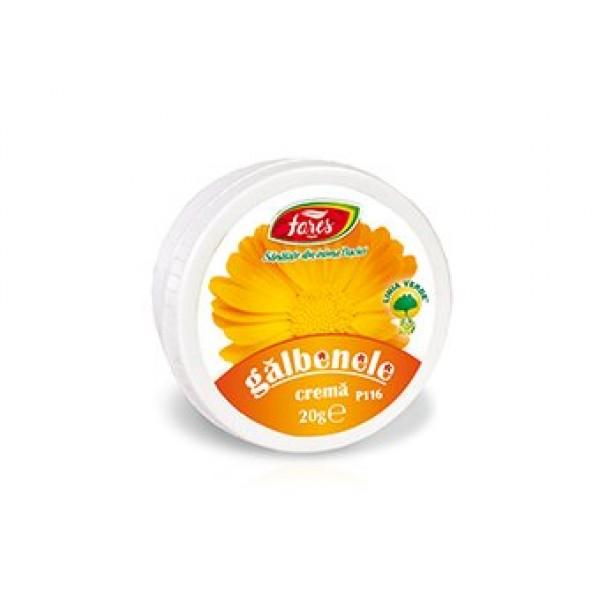 Crema galbenele FARES - 20 g