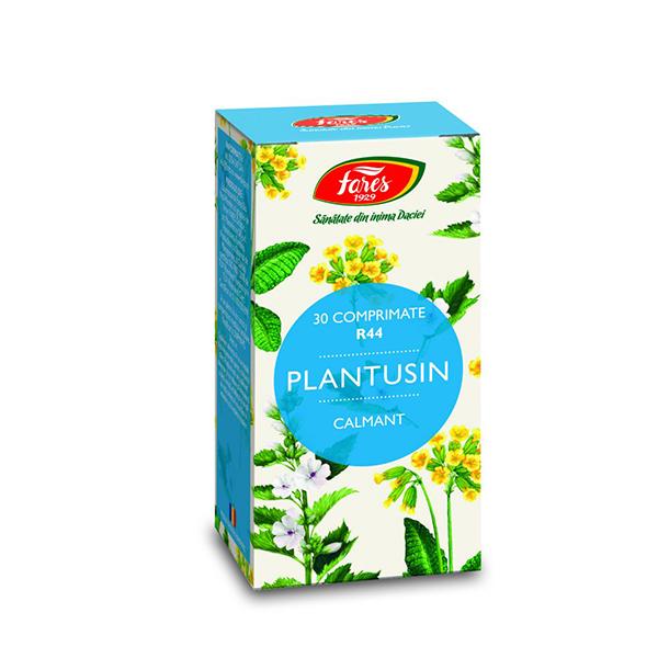 Plantusin calmant Fares - 30 comprimate