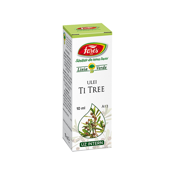 Ulei esential de Tea Tree (uz intern) Fares - 10 ml