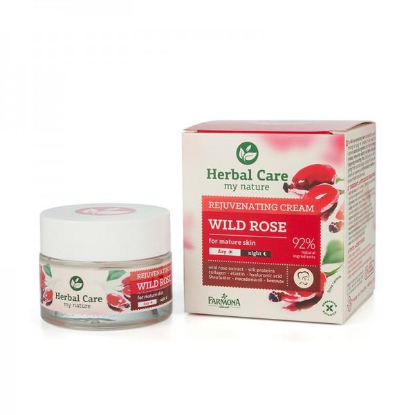 Crema rejuvenanta pentru ten matur cu trandafir salbatic Farmona - 50 ml