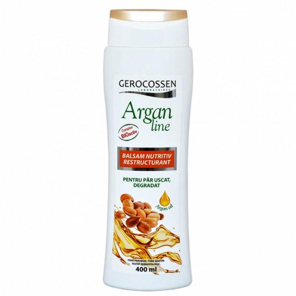 Balsam nutritiv restructurant Argan Line Gerocossen - 400 ml