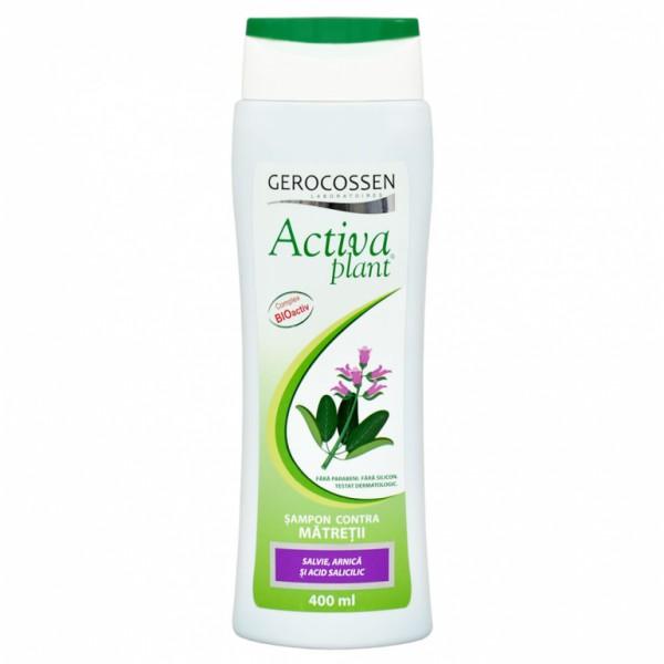 Sampon contra matretii Activa Plant GEROCOSSEN - 400 ml