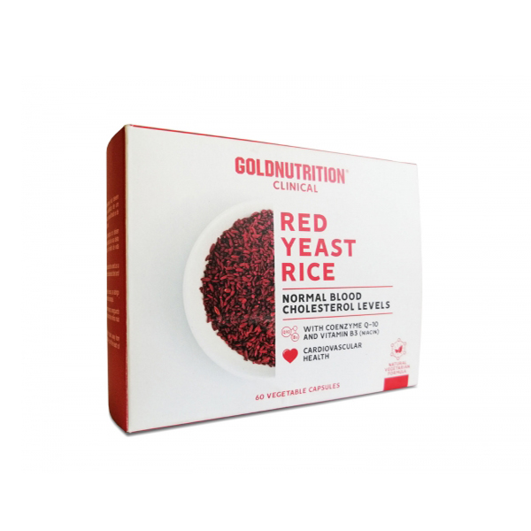 Drojdie din orez rosu GoldNutrition - 60 capsule