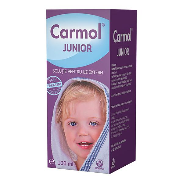 Carmol Junior solutie Biofarm - 100 ml