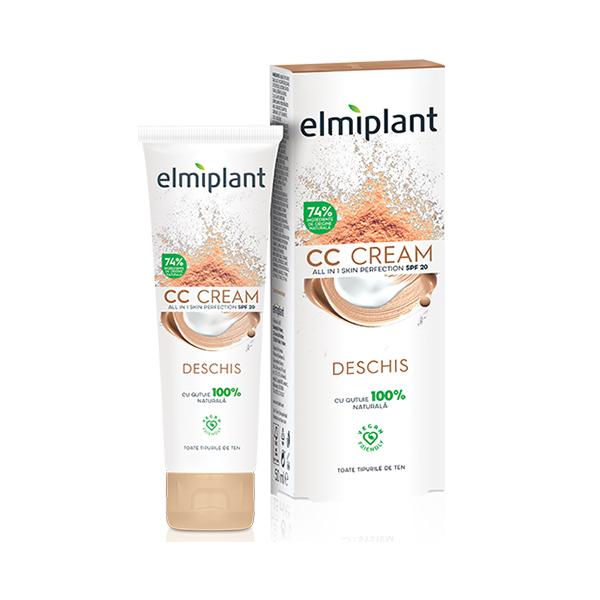 Crema coloranta CC ALLin1 (deschis) SPF 20 Skin Moisture Elmiplant - 50 ml