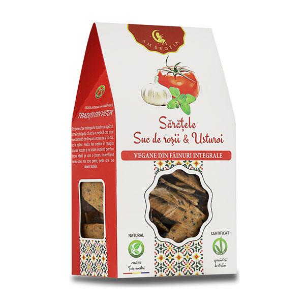Saratele vegane cu suc de rosii si usturoi Ambrozia - 125 g