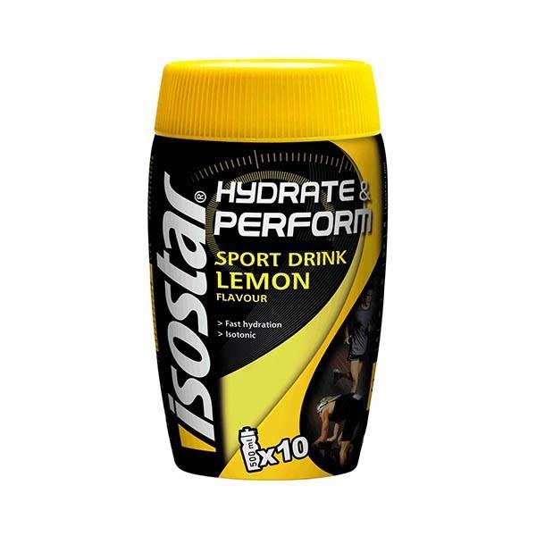 Pudra izotonica hydrate & perform lemon Isostar - 400 g