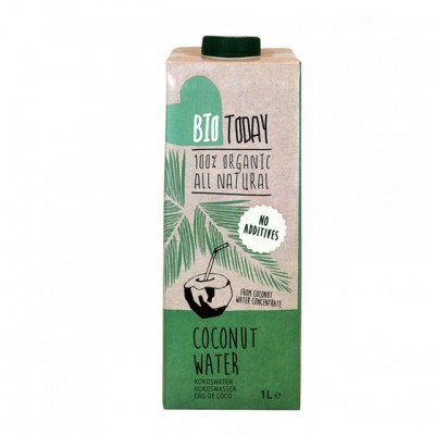 Apa de cocos BioToday BIO - 1 litru