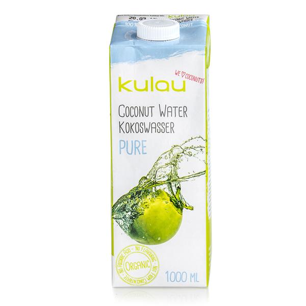 Apa de cocos pura Kulau BIO -  1 litru