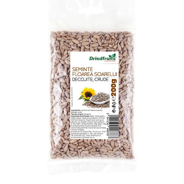 Miez floarea soarelui crud - 200 g