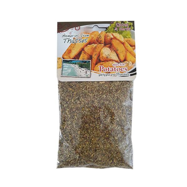 Mix condimente pentru cartofi - 45 g