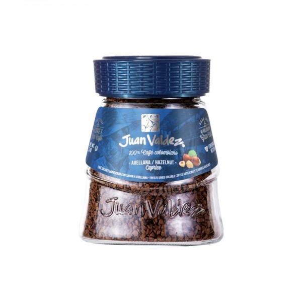 Cafea solubila alune de padure Juan Valdez - 95 g