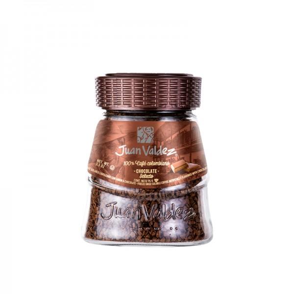 Cafea solubila cu ciocolata Juan Valdez - 95 g
