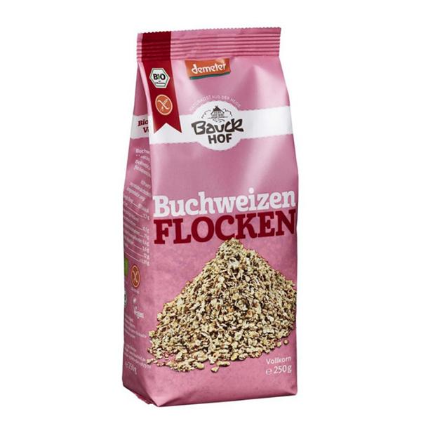 Fulgi de hrisca (fara gluten) BIO Bauckhof - 250 g