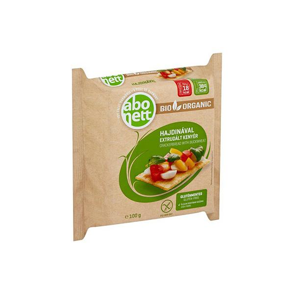 Tartine crocante cu hrisca (fara gluten) BIO Abonett - 100 g