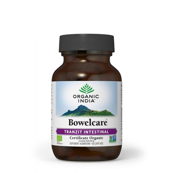 Bowelcare (tranzit intestinal) BIO Organic India - 60 cps