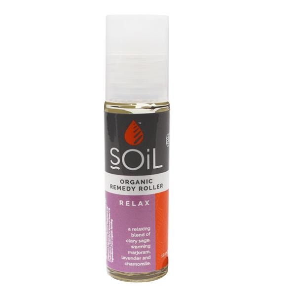 Roll-on relax cu uleiuri esentiale pure (amestec relaxant) BIO Soil - 11 ml