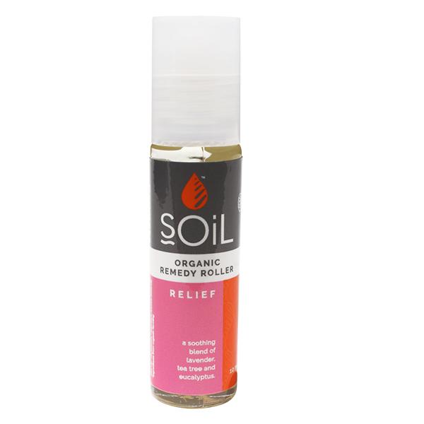Roll-on relief cu uleiuri esentiale pure (amestec de alinare rapida) BIO Soil - 11 ml