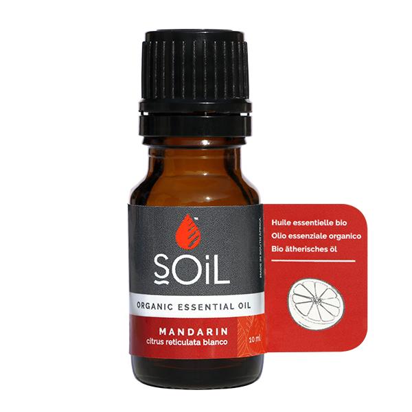Ulei esential de mandarina BIO Soil - 10 ml
