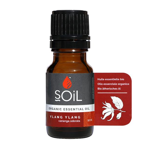 Ulei esential de ylang ylang BIO Soil - 10 ml
