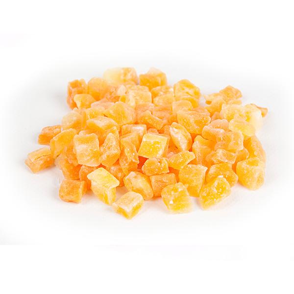 Pepene galben confiat cuburi - 200 g