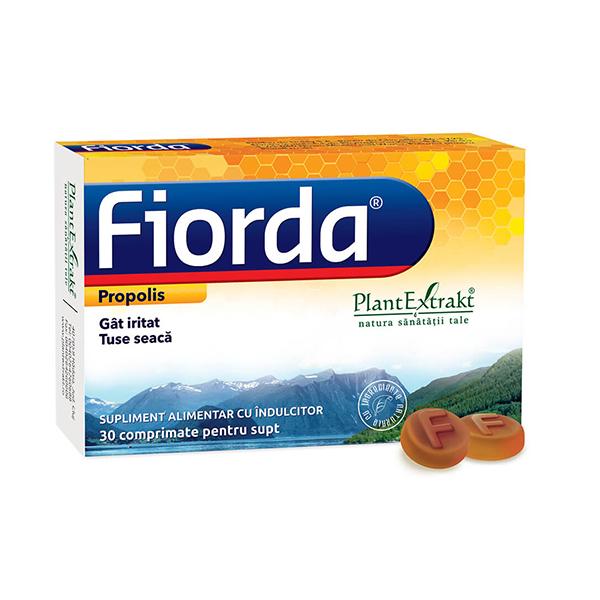 Fiorda de adulti (propolis) PlantExtrakt - 30 comprimate de supt