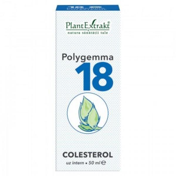 Polygemma nr 18 (colesterol) PlantExtrakt - 50 ml