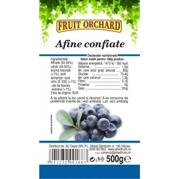 Afine confiate Driedfruits - 500 g