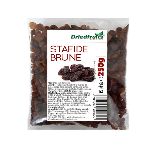Stafide brune deshidratate - 250 g
