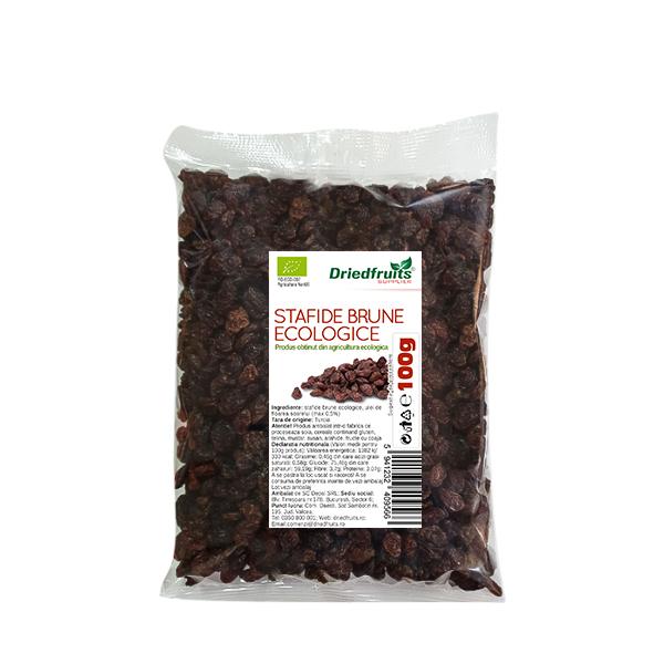 Stafide brune deshidratate BIO - 100 g