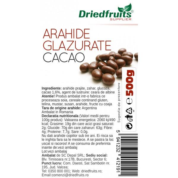 Arahide glazurate cacao - 500 g