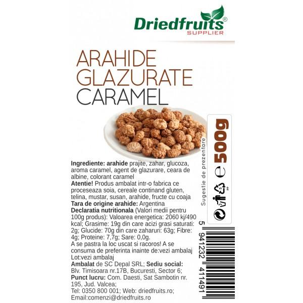 Arahide glazurate caramel - 500 g