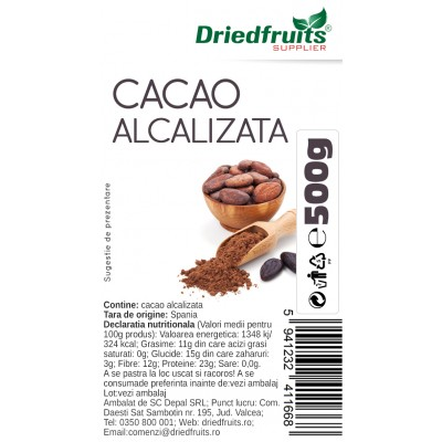 Cacao alcalina - inchisa - 500 g