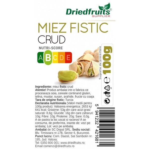 Miez fistic crud  - 100 g