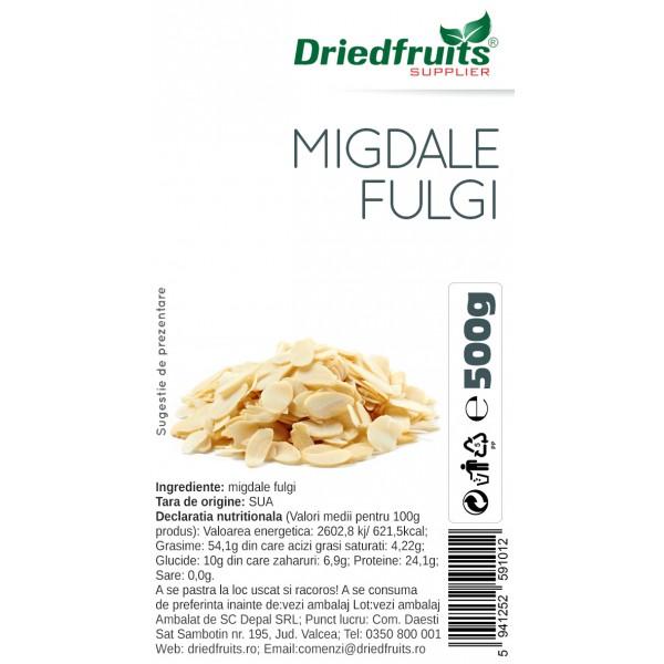 Migdale fulgi - 500 g