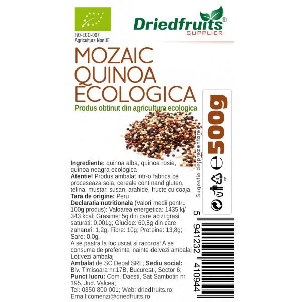 Mozaic quinoa BIO Driedfruits - 500 g